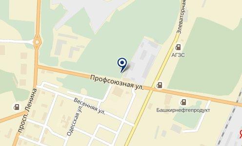 Аэро на карте Стерлитамаке